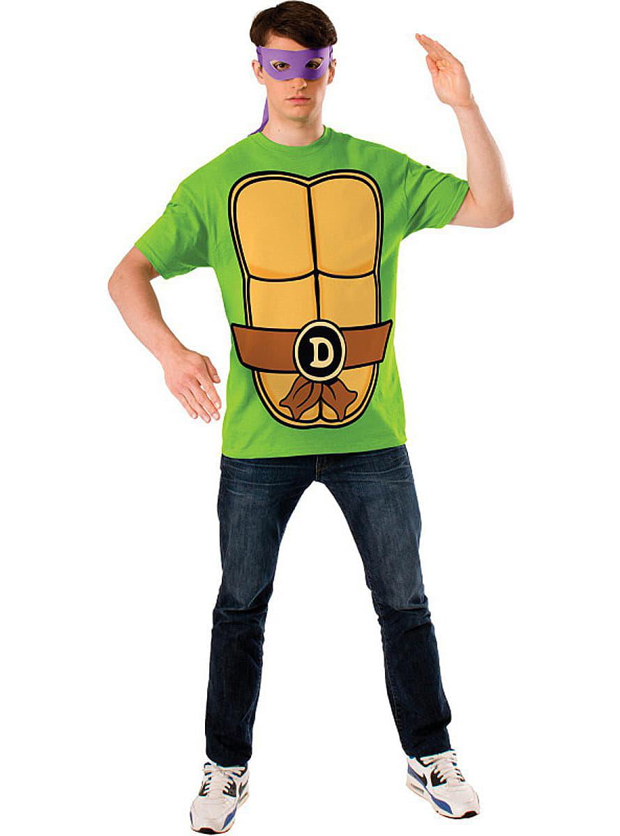 Kit de Tortuga Ninja Donatello disfraz hombre   Funidelia