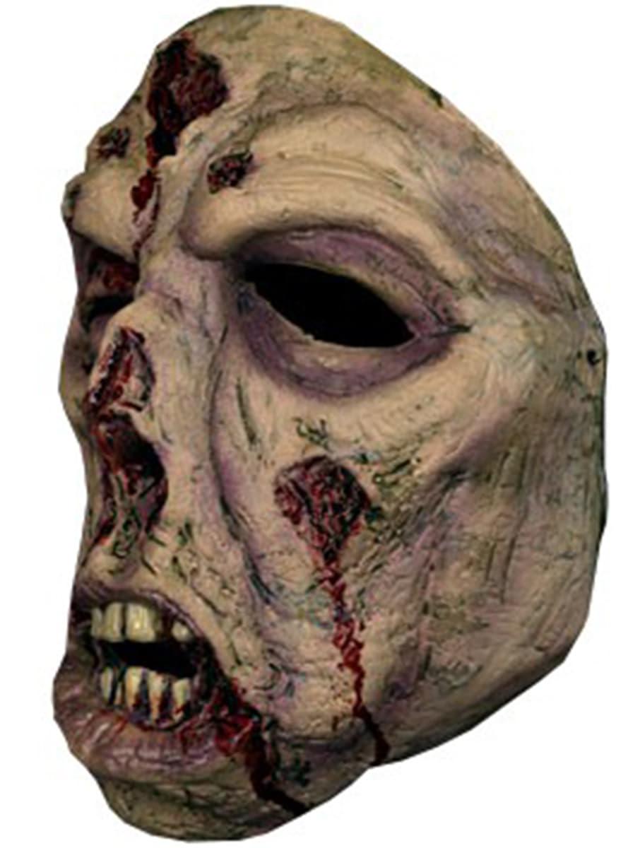 ein ugiger zombie maske halloween online kaufen. Black Bedroom Furniture Sets. Home Design Ideas