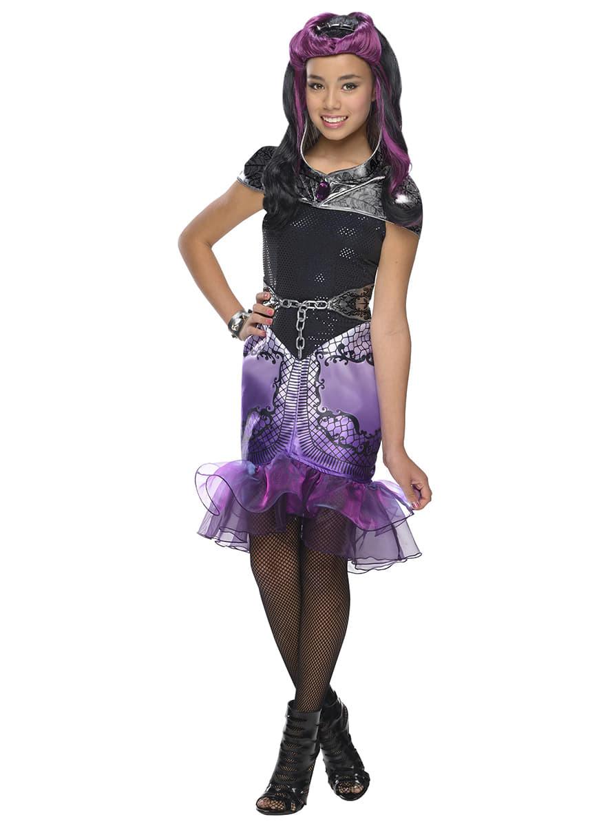 disfraz de raven queen ever after high para nia