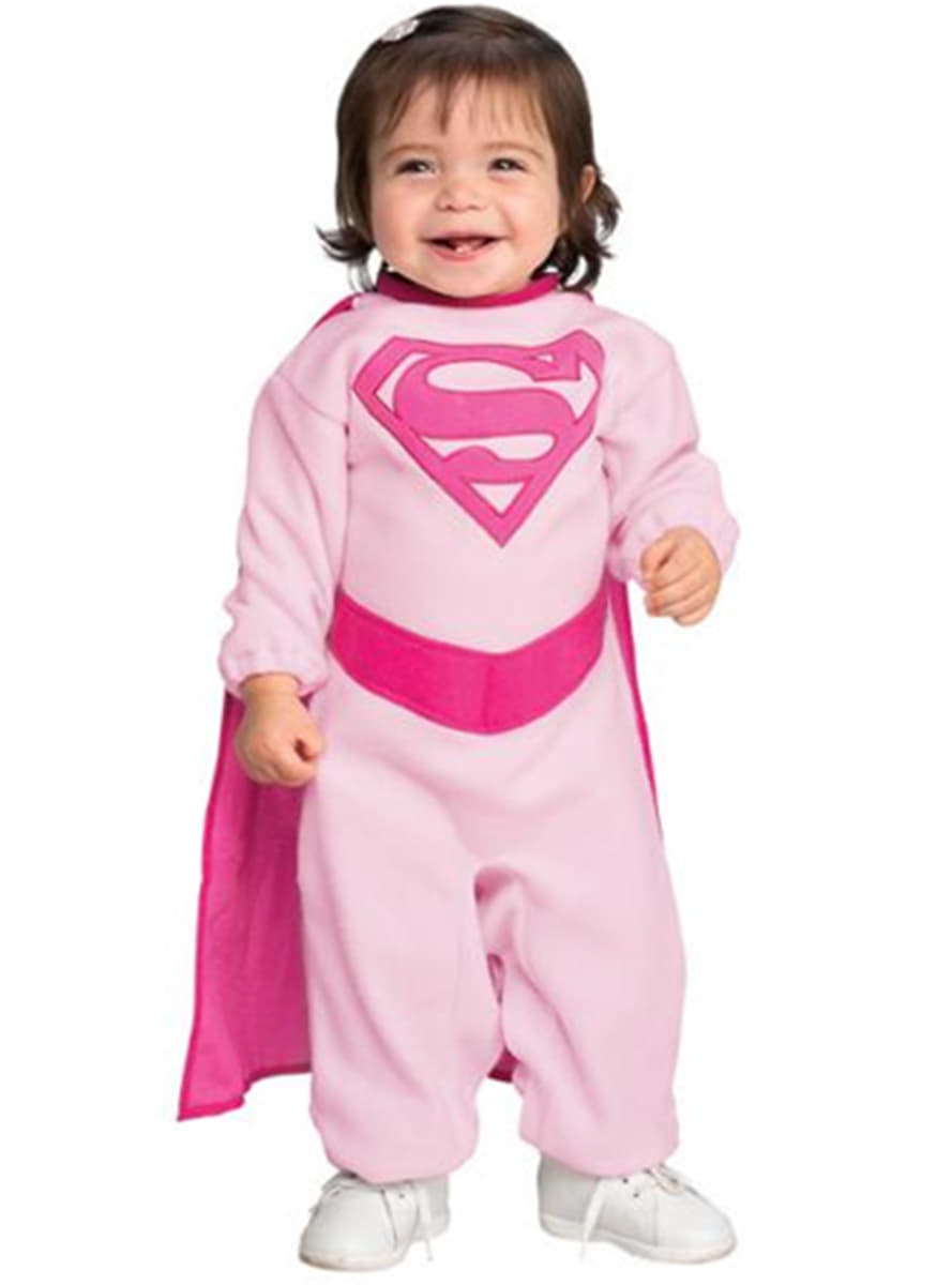 costume pink supergirl pour b b achat en ligne sur. Black Bedroom Furniture Sets. Home Design Ideas