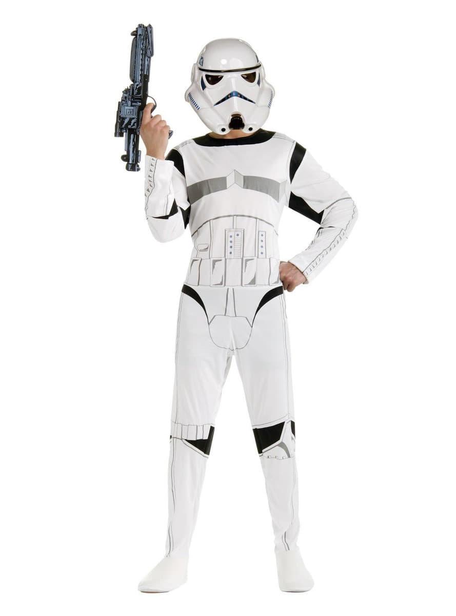 stormtrooper kost m f r erwachsene star wars funidelia. Black Bedroom Furniture Sets. Home Design Ideas