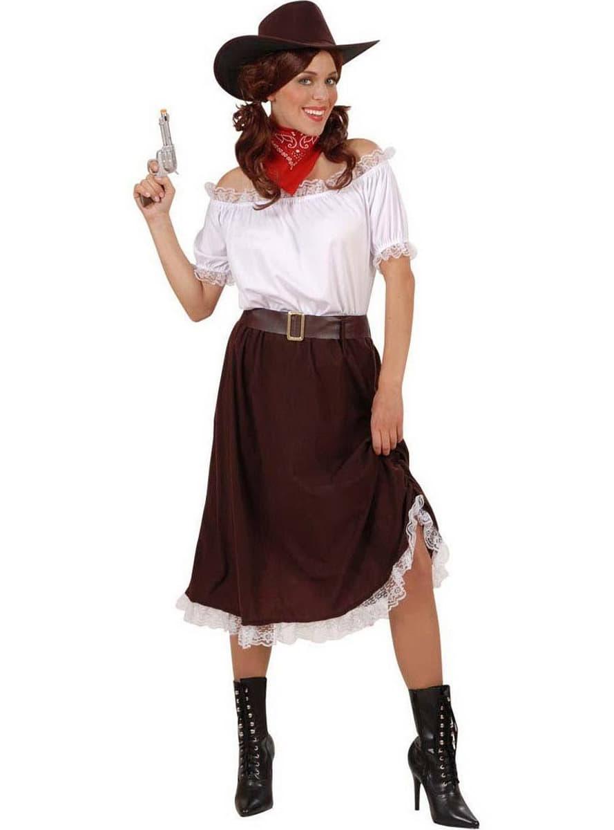 cowboy gunslinger costume for a woman. Black Bedroom Furniture Sets. Home Design Ideas