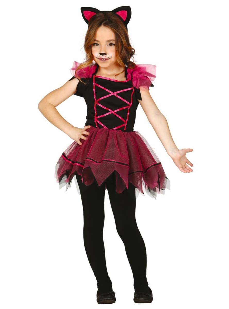 Disfraz de gatita rosa para ni a comprar online en funidelia - Disfraces de gatitas para nina ...
