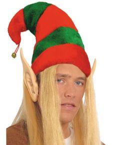 gorro de elfo grande para adulto