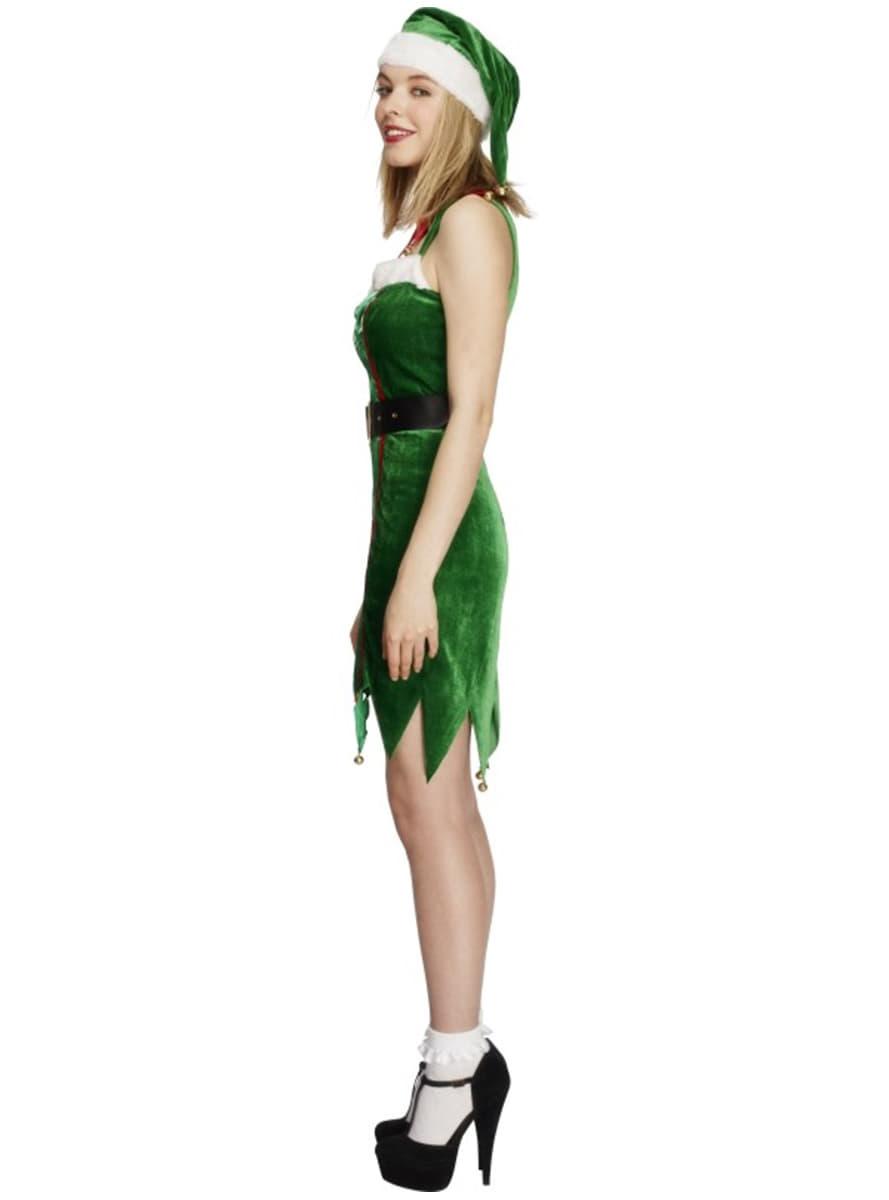 disfraz de elfa pcara para mujer