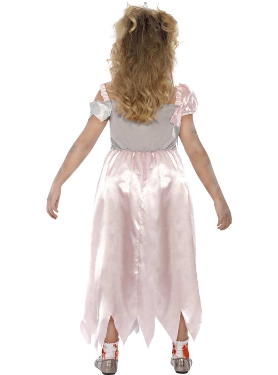 disfraz de princesa zombie para nia