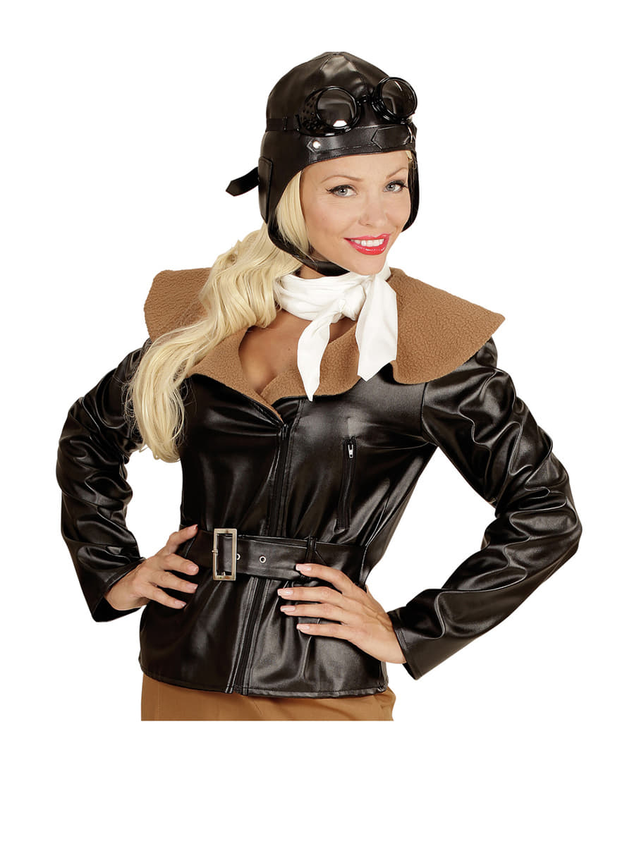 womens retro aviator costume. Black Bedroom Furniture Sets. Home Design Ideas